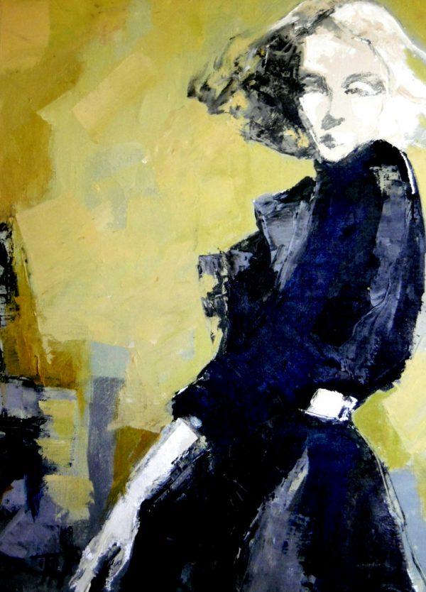 imagenes web 72ppp_Mademoiselle 70x50cm acrylique sur toile Damian Tirado 2018-001